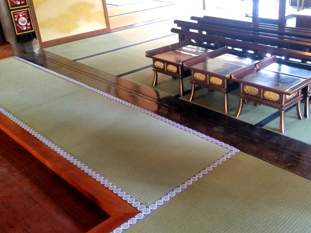 お寺「高蔵寺」さんの畳替え