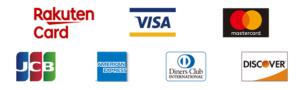 大沢畳屋では、お支払い方法にVISA・JCB・マスターカード、アメックスなどのカード決済が利用できます。